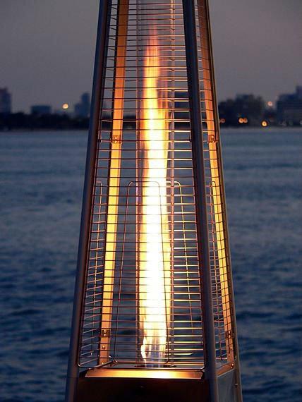 Flame heater huren