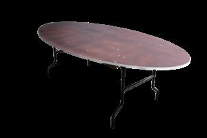 Ovale tafel huren