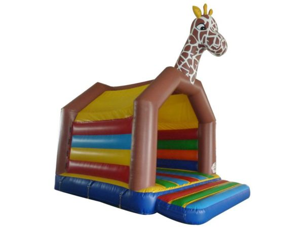 Springkasteel giraf huren