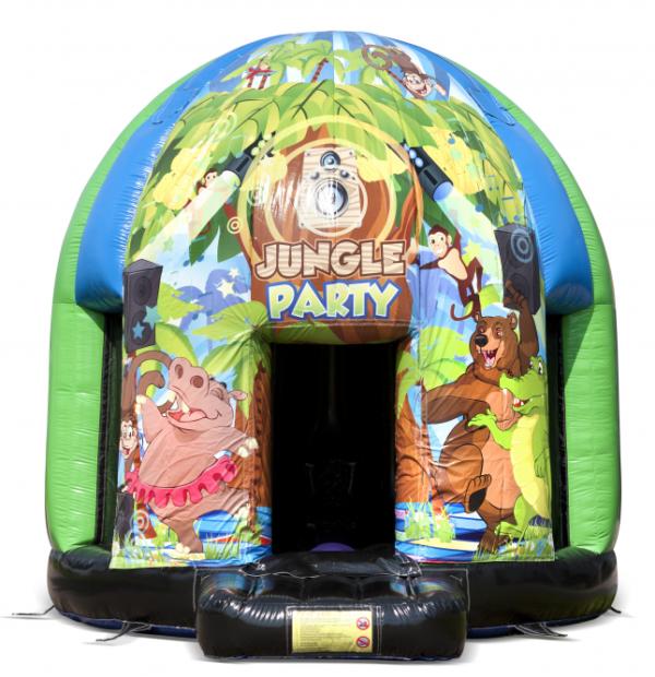 Disco jungle springkasteel huren