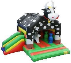 Koe springkasteel huren