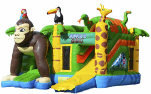 Jungle multiplay springkasteel huren