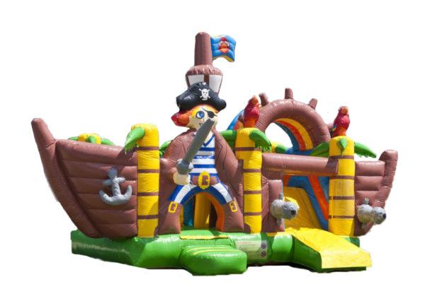 Piratenbootje multiplay springkasteel huren